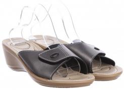 Esmara flip-flops L11-280018 40 26 cm Dark gray with beige (20010