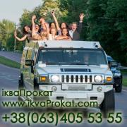 Limo / town car service and a festive procession