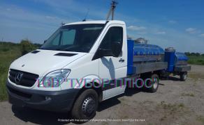 Production of milk trucks, tank trucks, water carriers, fish trucks